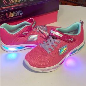 Skechers Big Girl Litebeam Shoes Size 5